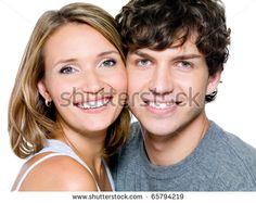 Couple Jeune Heureux Photos et images de stock | Shutterstock