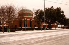 Bay Minette AL Snow 1-28-14