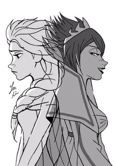 The Good Snow Queen Elsa and Evil Elsa Elsa Frozen, Disney Frozen, Frozen And Tangled, Great Disney Movies, Good Movies, Disney Stuff, Awesome Movies, Awesome Art, Disney And Dreamworks
