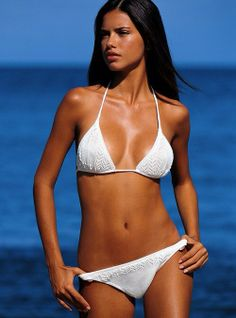 I want to rock a white bikini for our honeymoon