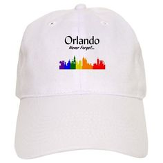 Orlando LGBT Support Baseball Cap on CafePress.com Lgbt Support e92df0d4d4db