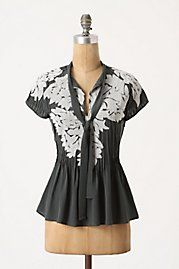 Iced Foliage Top - Anthropologie, $138 love anthropologie ♥