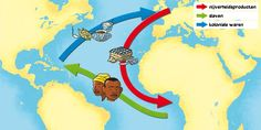 Yaoundé  Hier of in andere Afrikaanse landen langs de kust werd gehandeld en kregen de Spanjaarden slaven voor in Amerika te werken. Atlantische driehoekhandel is handelsnetwerk tussen Europa, Afrika en Amerika waarin slaven, wapens, tabak, rum en suiker verhandeld werden door Europeanen.