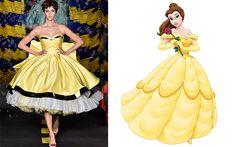 Desfile da Moschino traz vestidos inspirados nas princesas da Disney - Moda - CAPRICHO