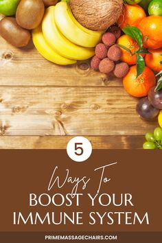 Having a healthy immune system is important if you want live a healthy life. In this article, we will show you 5 ways you can use to boost your immune system naturally. Click through to read the article now.