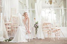 Romántica colección de vestidos de novia de la firma Clinton Lotter.