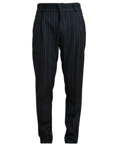 DRIES VAN NOTEN | Patos Pinstriped Wool Trousers