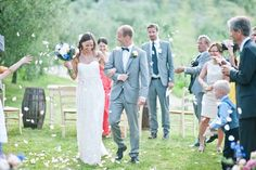 Tuscany Outdoor wedding ceremony # country chic wedding by Varese Wedding Italy