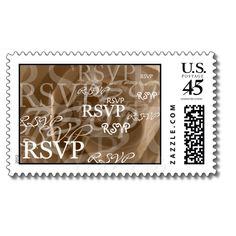 RSVP Postage Stamp from Zazzle.com