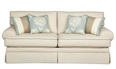 4550 Upholstered Stationary Sofa by Craftmaster