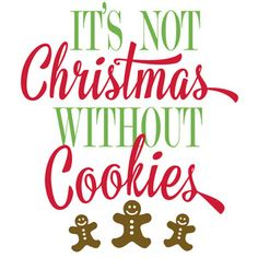 Silhouette Design Store: it's not christmas without cookies Christmas Aprons, Christmas Labels, Christmas Gingerbread, Christmas Kitchen, Christmas Svg, Christmas Printables, Christmas Cookies, Christmas Holidays, Christmas Decorations