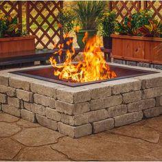 Sunjoy Steel Outdoor Fireplace & Reviews | Wayfair