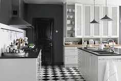 black kitchens - Google-Suche