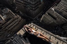 """With the desire to capture unique photos of New York City from a fresh perspective, Mar Shirasuna climbed to the rooftop of his apartment building and he was amazed by the results. """"It's a really precious moment when I find a new view. I want to share the same feeling I got in that moment with you."""""""