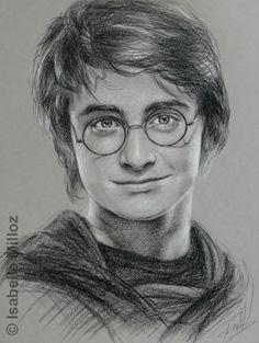 Drawing Portraits - Portrait de Daniel Radcliffe, alias Harry Potter Discover The Secrets Of Drawing Realistic Pencil Portraits.Let Me Show You How You Too Can Draw Realistic Pencil Portraits With My Truly Step-by-Step Guide. Harry Potter Art Drawings, Harry Potter Drawings, Portrait Drawing, Sketches, Sketch Book, Harry Potter Portraits, Art Drawings Sketches, Portrait