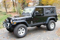 Black Jeep Wrangler, 2006 Jeep Wrangler Unlimited, Jeep Models, Jeeps, Monster Trucks, Roads, Vehicles, 4x4, Nice