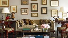 The Cerebral & Sexy, Classically Traditional Design of Nina Griscom's NYC home as featured in Architectural Digest