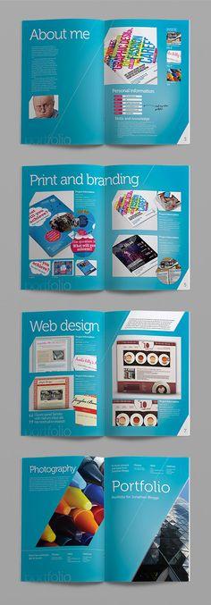 Free indesign portfolio book presenter disseny pinterest portfolio book portfolio layout for Indesign portfolio template free