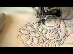 Video: Free Motion Quilting Random Fill Amys Free Motion Quilting Adventures Blog https://www.bloglovin.com/blogs/amys-free-motion-quilting-adventures-4987215/tips-for-using-monofilament-3326160973/