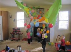 Have a DIY balloon drop. | 19 Creative And Fun Ways To Celebrate New Year's Eve With Kids