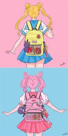 Back to School Ready Ready for schoolYou can find Sailor moon and more on our website.Back to School Ready Ready for school Sailor Moom, Arte Sailor Moon, Sailor Moon Fan Art, Sailor Moon Character, Sailor Venus, Sailor Moon Manga, Sailor Moon Crystal, Kawaii Drawings, Cute Drawings
