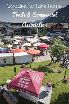 You still need a souvenir from Kleinwalsertal or are looking for retail shops in the valley? Whether a grocery store, fashion or specialty store - with the Alpine Village, Retail Shop, Grocery Store, Commercial, Patio, Outdoor Decor, Shopping, Fashion, Yard