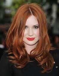 red hair red lipstick - Google-søk