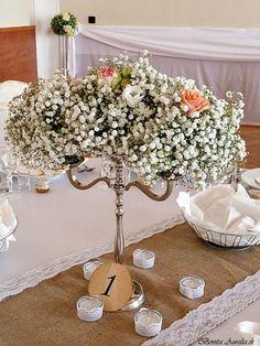 beautiful , soft flowers decoration