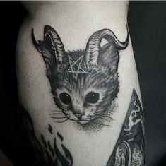 #gat #gato #tattoo #tatuagem