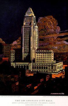 The new Los Angeles City Hall, Los Angeles