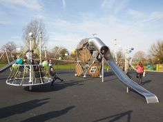 Carlton Road Play Area, London Borough of Bexley :: Project :: Russell Play #playground #uk