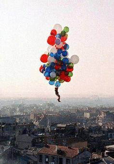 The Importance of Hanging on ..Le Ballon Rouge, 1956..