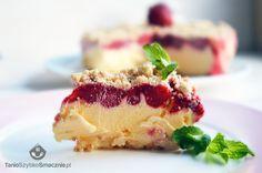 Tort lodowy z marcepanową kruszonką
