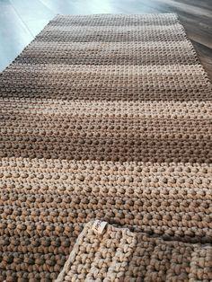 60 colors to choose from! Rectangular Rug, Crochet rectangular rug, crochet carpet, doormat, rag r Yellow Carpet, Black Carpet, Beige Carpet, Patterned Carpet, Brown Carpet, Crochet Carpet, Crochet Home, Shag Carpet, Rugs On Carpet