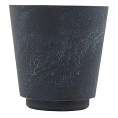 Planter kruka S, blå/marmor i gruppen Inredningsdetaljer / Dekoration / Vaser & Krukor hos RUM21.se (1025610)