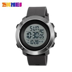 SKMEI Men Sports Watches Chrono Double Time Digital Wristwatches 50M Water Resistant LED Display Watch Relogio Masculino 1268