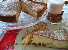 La buona cucina di Katty: Torta morbidosa con mandorle e marrons glaces di soli albumi