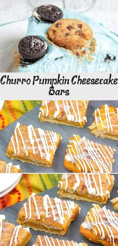 How to make pumpkin churro cheesecake bars! With a crunchy layer of sweet cinnamon sugar topping, our Churro Pumpkin Cheesecake Bars take pumpkin cheesecake to the next level! An easy and delicious fall recipe that is sure to be a hit! They are perfect to make for Thanksgiving! #thanksgiving #fall #desserts #recipes #pumpkin #Minichurrocheesecake #Pumpkinchurrocheesecake #churrocheesecakeKeto #churrocheesecakeRecipe #churrocheesecakeEggRolls Sopapilla Cheesecake Bars, Pumpkin Cheesecake Bars, Chocolate Peanut Butter Cheesecake, Cheesecake Recipes, Chocolate Pumpkin Cake, Pumpkin Pie Cupcakes, Starbucks Pumpkin, Fall Desserts, Churros