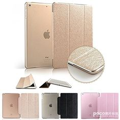 Aenmil® For iPad Air 2 Case, iPad 6 Urtra Slim Super Light Weight Hard Smart Leather Case Cover for Apple iPad Air 2 iPad 6 with Auto Sleep/Wake Feature (Golden) Aenmil® http://www.amazon.com/dp/B00PRIYGTG/ref=cm_sw_r_pi_dp_-cjOub07K14M6