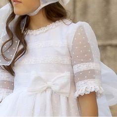 Blush Flower Girl Dresses, Girls Dresses, Confirmation Dresses, Holy Communion Dresses, Sleeves Designs For Dresses, Frock Fashion, Christening Gowns, Birthday Dresses, Chiffon Dress