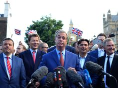 Farage: The West Needs A 'Democratic Renaissance' To Put The People Back In Charge (9/1/16)