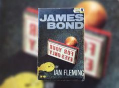 Unfilmed Bond: 'From A View To A Kill' James Bond Books, New James Bond, For Your Eyes Only, Novels, Romance Novels, Romans