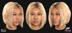 A selection of the driver heads and hairstyles we worked on during the production of Forza Horizon The title was extremely well received winning the award for Best Sports/Racing Game at the Game Awards and received a 91 on Metacritic. Forza Horizon 3, Hair Reference, Hair Hacks, Hair Tips, The Selection, Hair Styles, Face, Game Character, Awards
