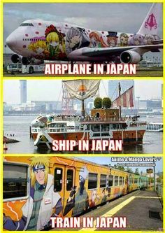 Only in Japan. Celebrates Creativity & Manga. XD