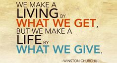 Real success | Giving