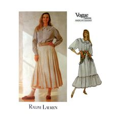 Vogue American Designer Ralph Lauren Pattern by PurplePlaidPenguin