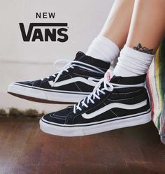 Shop Vans Sneaker at Urban Outfitters today. Vans hi black