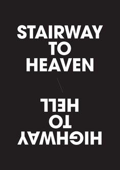 stairwar to heaven // highway to hell
