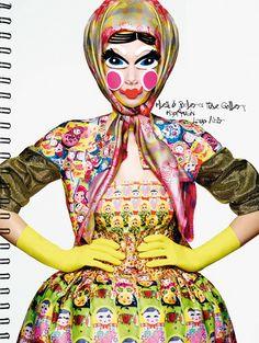 Publication: Tush Magazine Spring/Summer 2014 Models: Dalianah Arekion ,Stephanie Rad and others  Photographer: Armin Morbach Styling: Kathr...