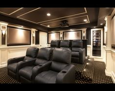 Media Room Home Theater Design, Pictures, Remodel, Decor and Ideas - page 44